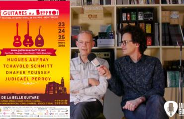 Guitares au Beffroi 2018 - Interview Jacques Carbonneaux