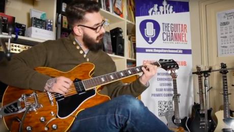 Démo guitares King Snake Curtis et Smith - Simon Ghnassia