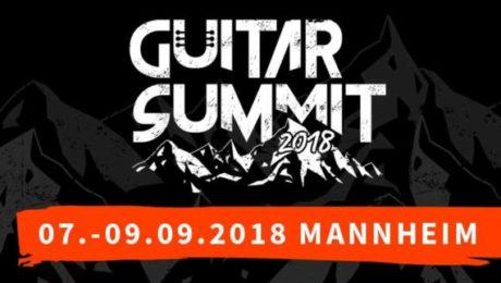 Guitar Summit 2018 - Le rendez-vous de l'automne de la guitare en Allemagne