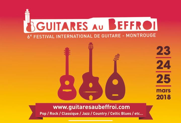 Guitares au Beffroi 2018