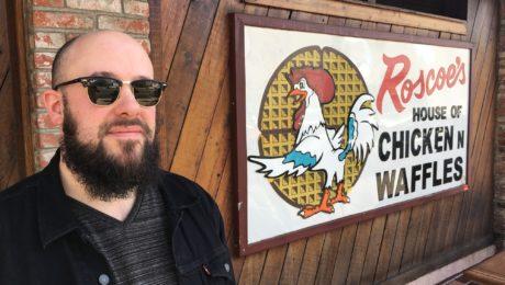 Julien @beurks Bitoun in Los Angeles - Part 1/5 - Roscoe's Chicken & Waffle