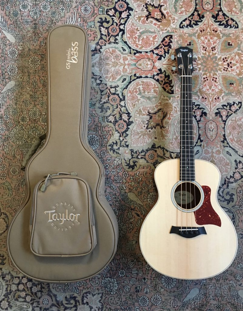 Test Guitare - GS Mini Bass @TaylorGuitars : mini instrument, maxi son ! - La Chaîne Guitare