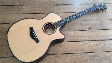 Test Guitare - Taylor K14ce Builder's Edition - Nouveau barrage V-class