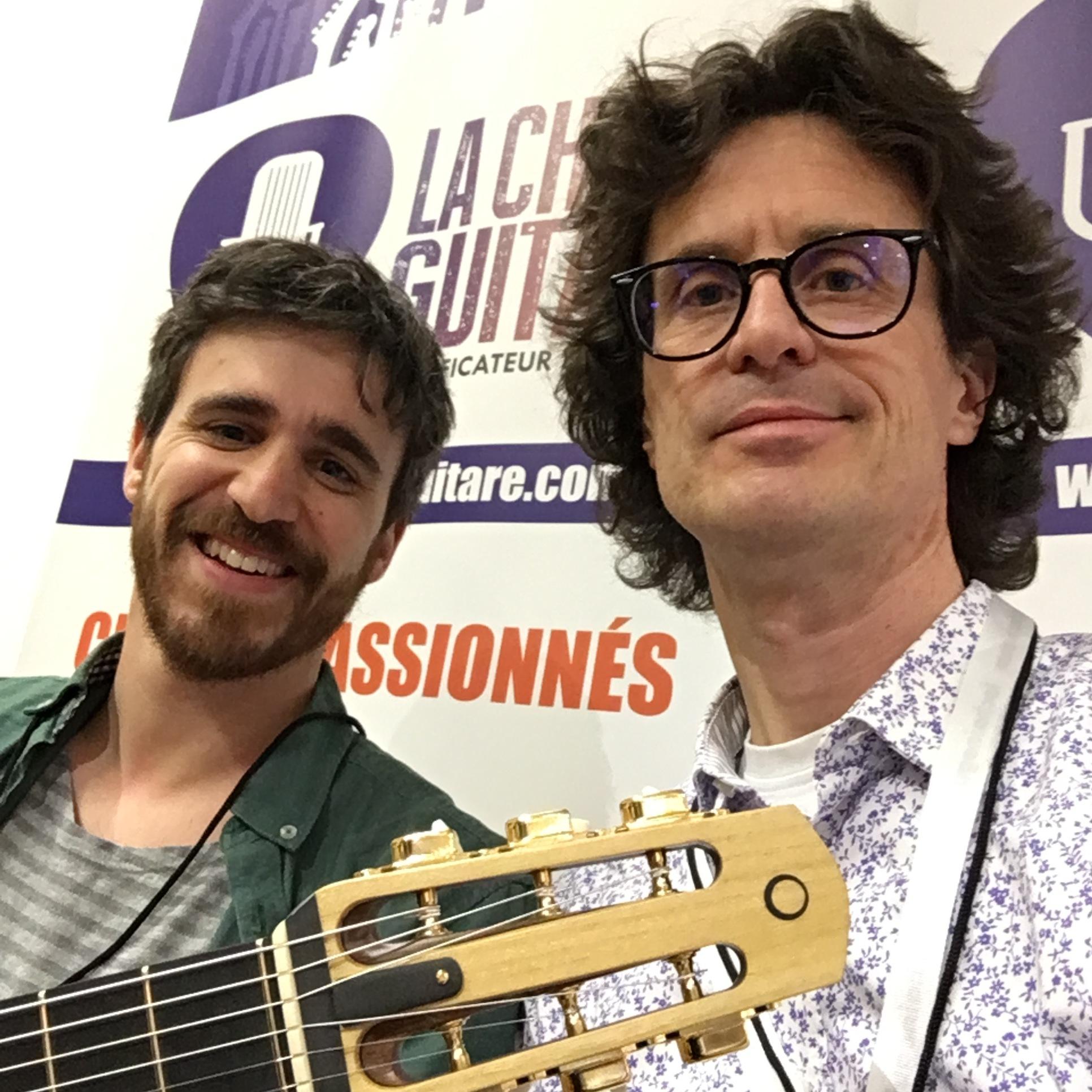 Interview luthier Théo Kazourian - Guitares au Beffroi 2018
