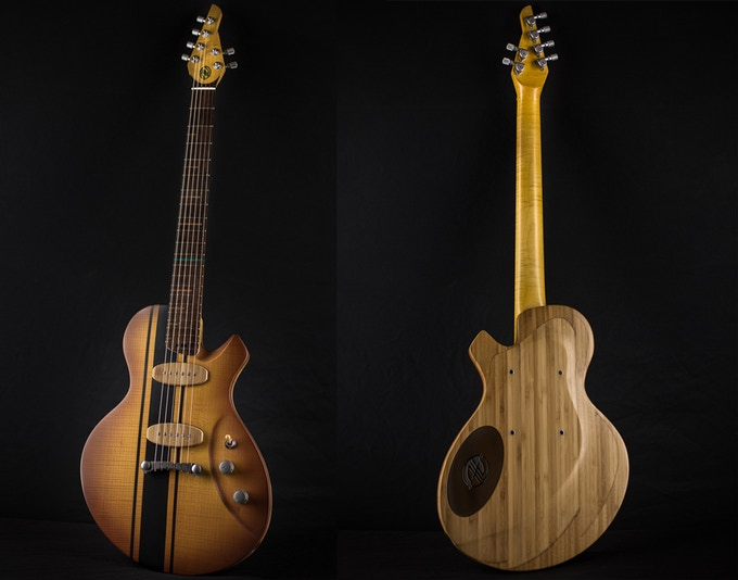 Cosmic One Alquier Guitars