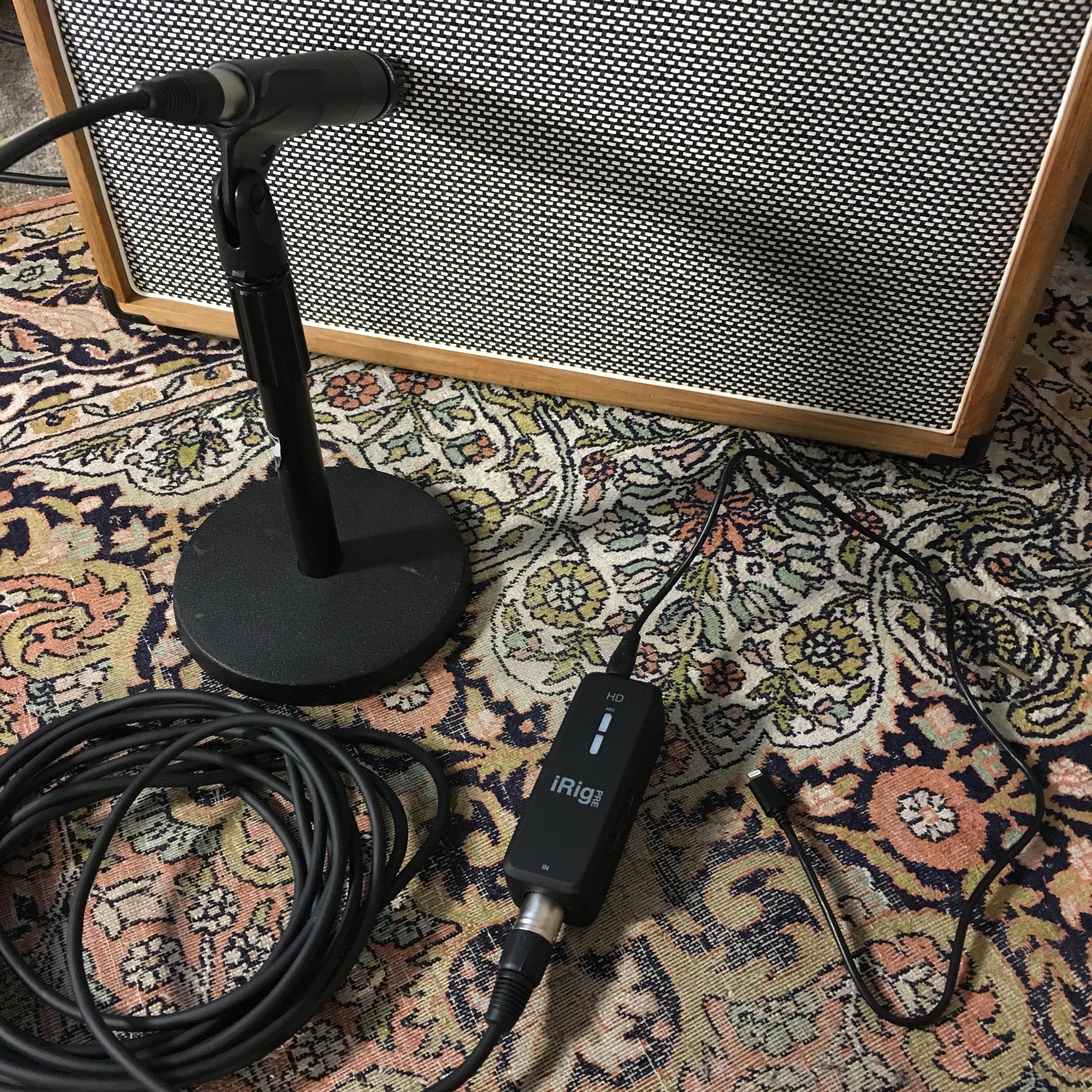 Test iRig Pre HD : avoir un bon son de guitare électrique dans une vidéo smartphone