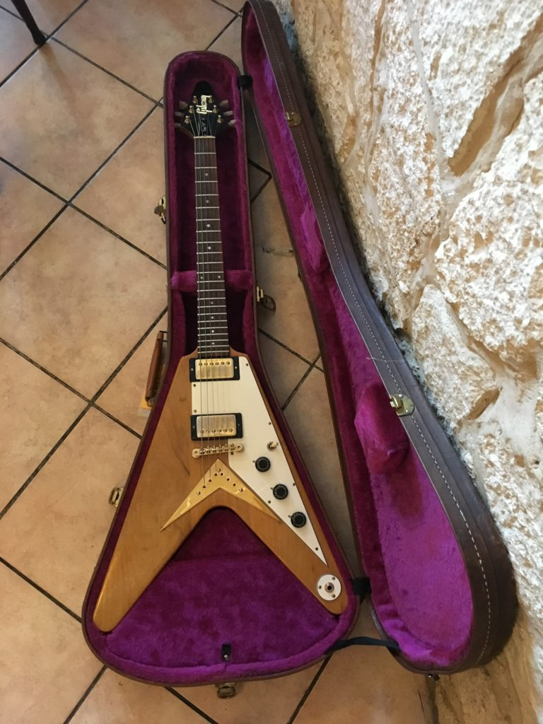 Gibson Flying V Joe Bonamassa Royal Albert Hall - Chronique Guitares d'Exception Matthieu Lucas