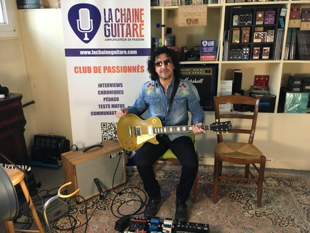 Nono de Trust - Showroom de La Chaîne Guitare