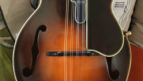 Mandoline Gibson F-5 1926 - Guitare d'Exception Christian Séguret