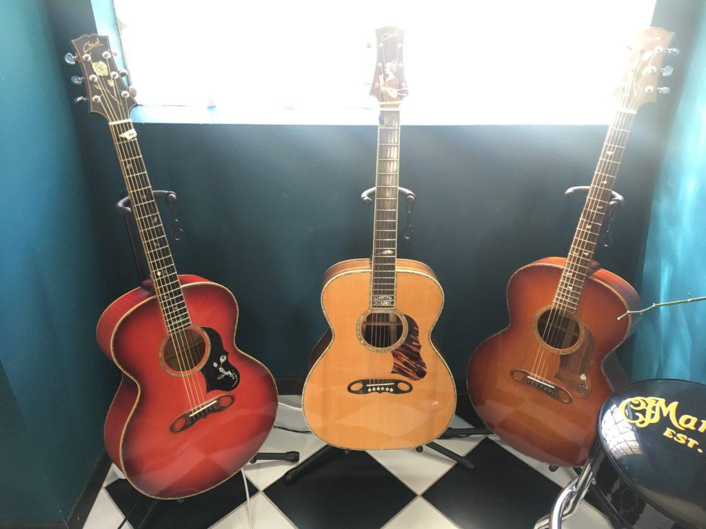 Guitares Franck Cheval - Guitare d'Exception Christian Séguret et Annabel