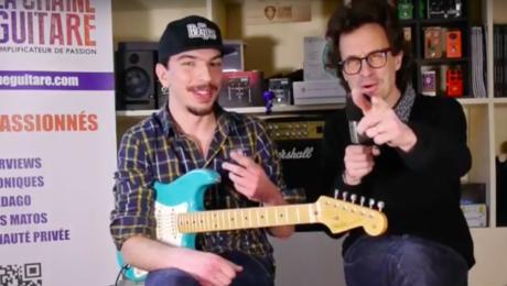 Interview Théo Cormier - Jeune guitariste pro plein de talent