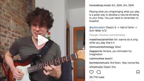 Perle Instagram - Horace Bray retranscrit par Kevin Davis