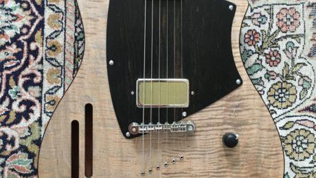 Interview Tony Girault et démo guitare Louisiane