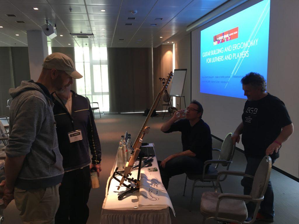 Reportage symposium EGB 2018 - La Chaîne Guitare