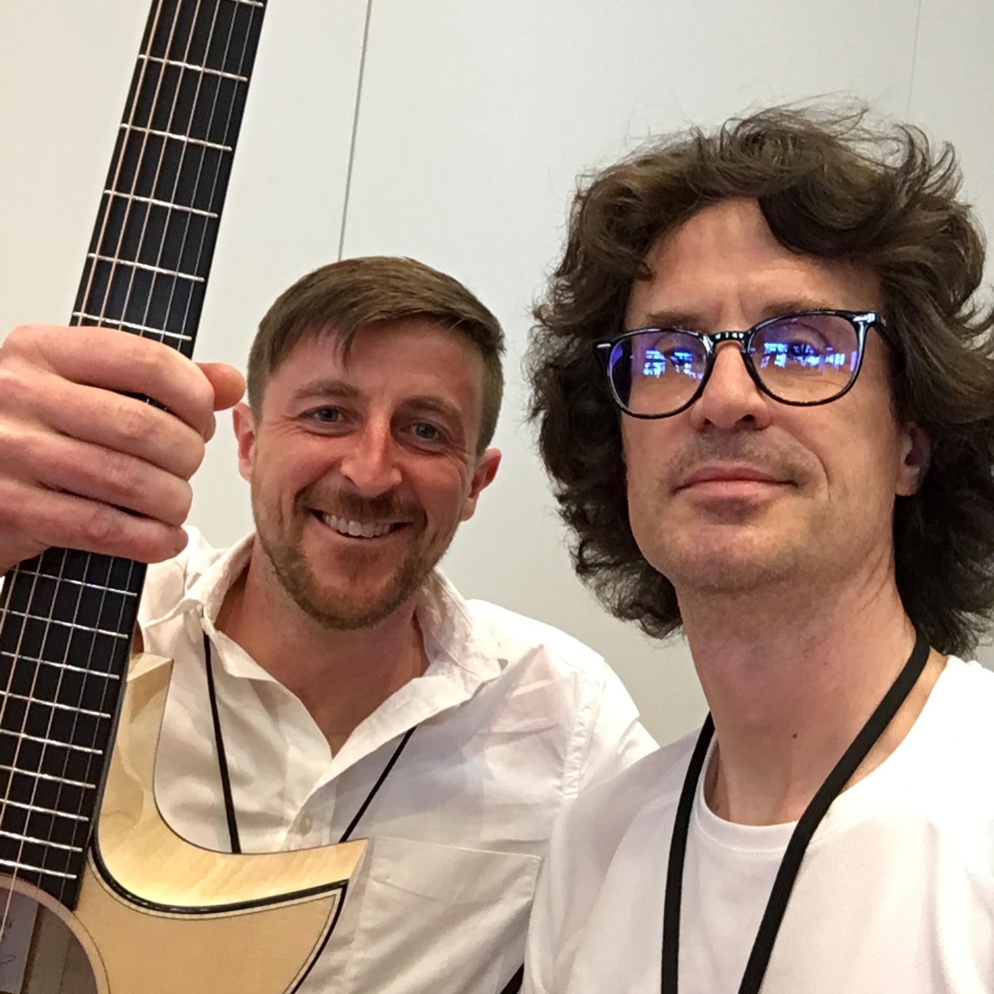 Interview luthier Rory Dowling de Taran Guitars au Holy Grail Guitar Show