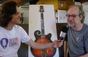 L'histoire de Princesse la guitare de Marcel Dadi par le luthier Franck Cheval