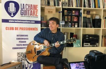Interview guitare à la main Sylvestre Planchais - Jazzman multi-facettes