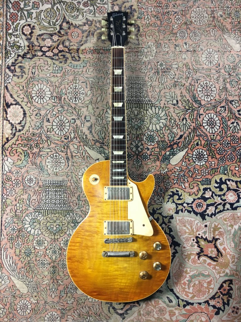 "Test Guitare - Les Paul Faded Gibson 2007 modifiée ""Peter Green"" par Larry Corsa"