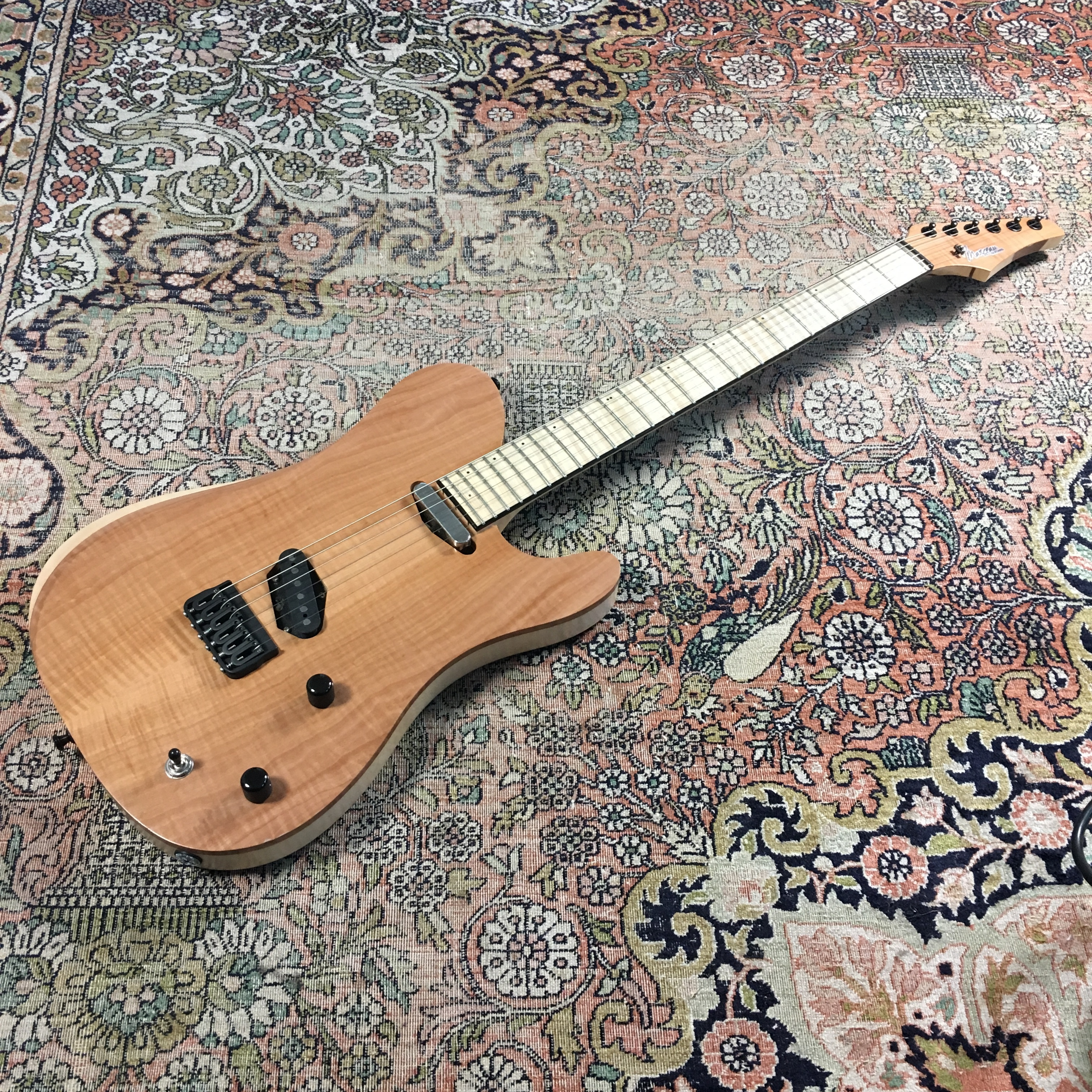 Test Guitare - Marceau TL Custom Shop