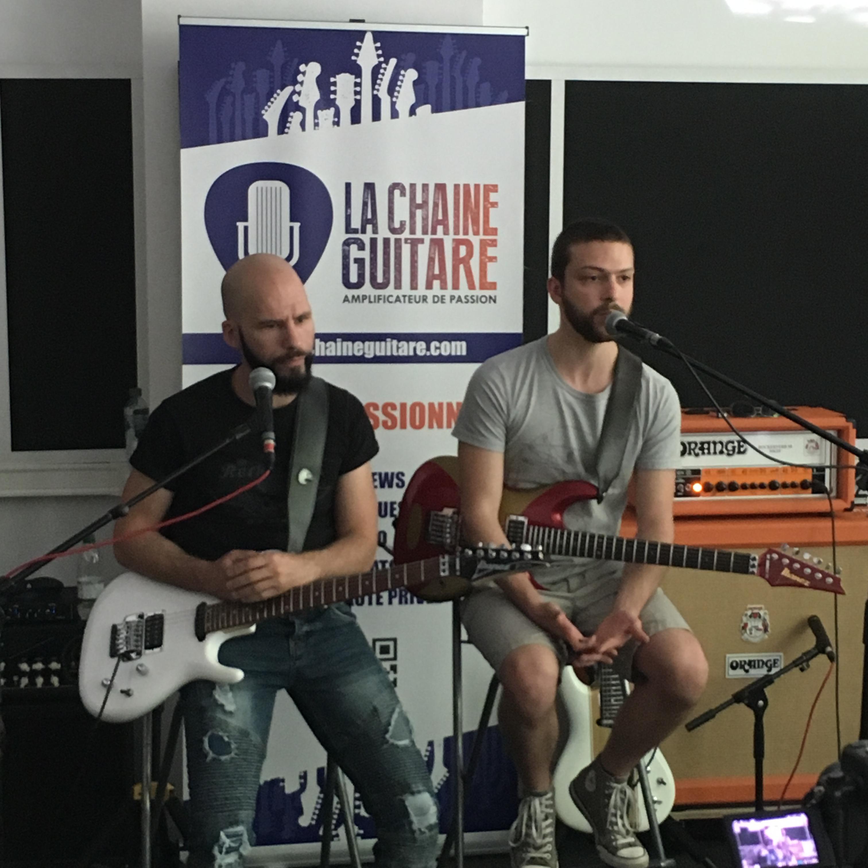 Masterclass Satriani par Pascal Vigné et Saturax - 2/2