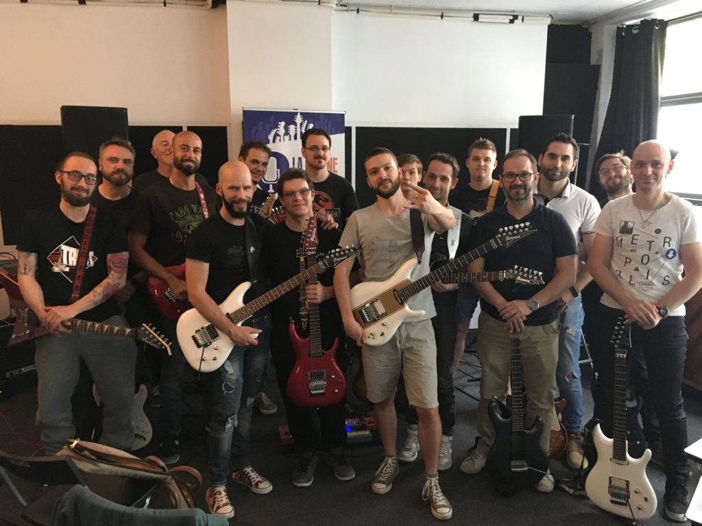 Masterclass Joe Satriani par Pascal Vigné et Saturax