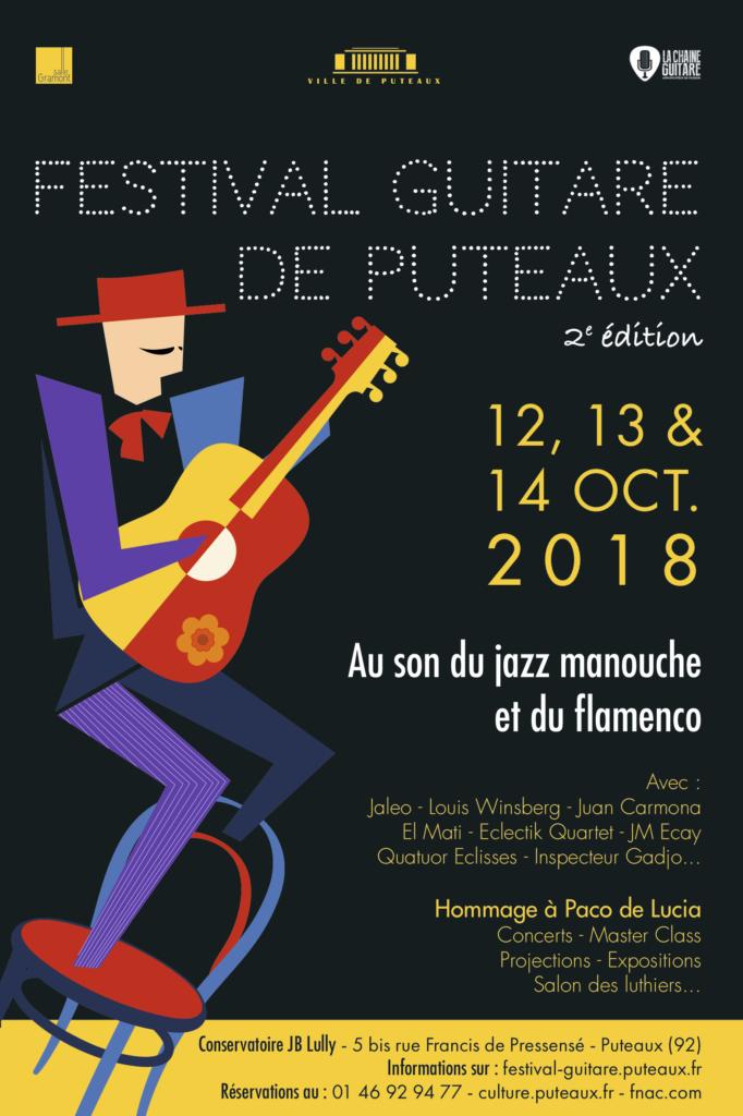Festival de Guitare de Puteaux 2018