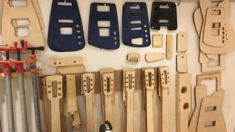 Visite atelier de luthier - Chez Millimetric Instruments à Montréal