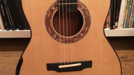 Luthier Michael Greenfield - Présentation d'un modèle Greenfield G3