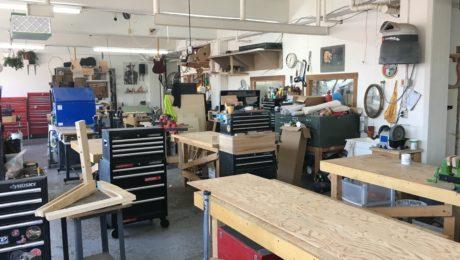 Visite atelier de luthier - Théo Kazourian (Montréal, Canada)