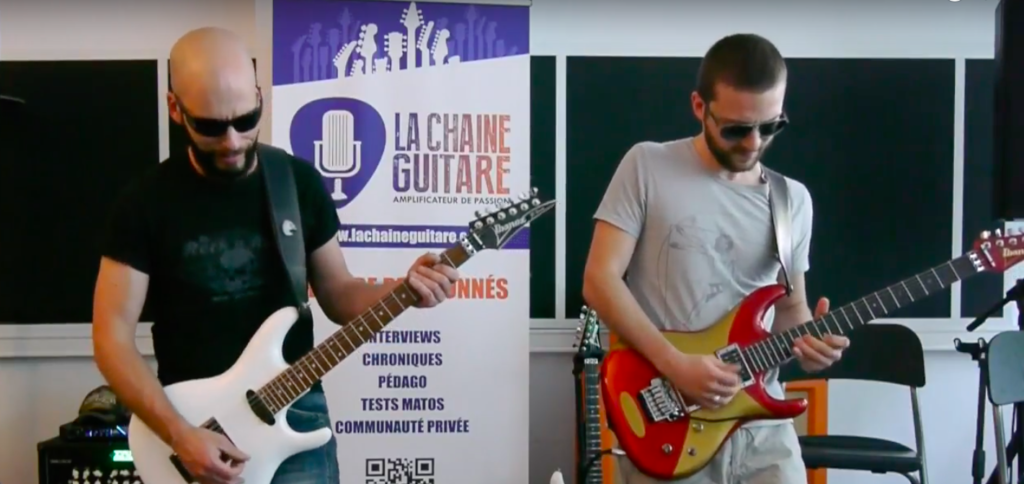 Inscription Masterclass Satriani animée par Pascal Vigné & Saturax - 2019