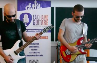 Inscription Masterclass Satriani animée par Pascal Vigné & Saturax - 2019