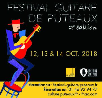 Festival de Guitare de Puteaux 2018 - Programme