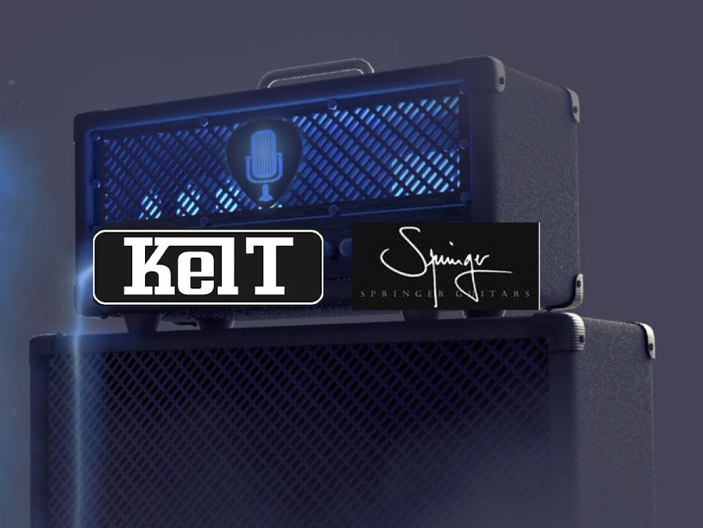 Double Soirée Matos 2018 Springer Guitars / Kelt Amps
