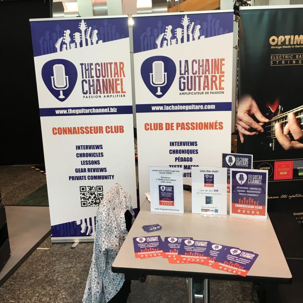Stand La Chaîne Guitare - Guitar Summit 2018