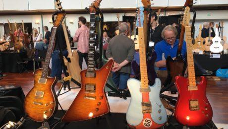 Guitar Summit 2018 - Video blogging - Jour 1