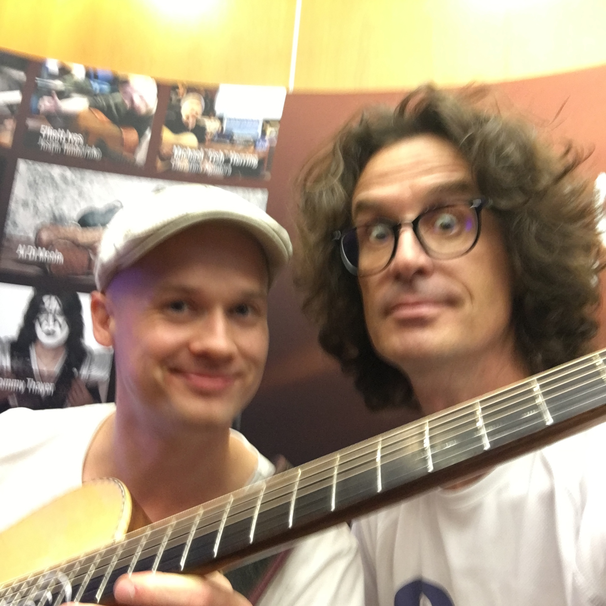 Interview Petteri Sariola durant le Guitar Summit 2018