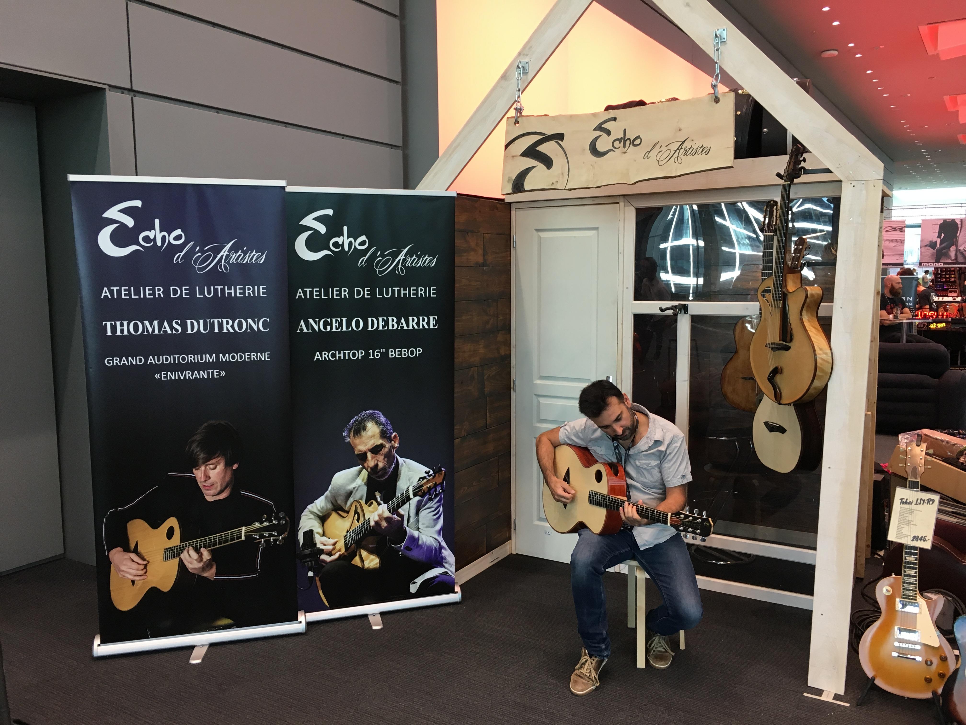 Interview Echo d'Artistes - Guitar Summit 2018
