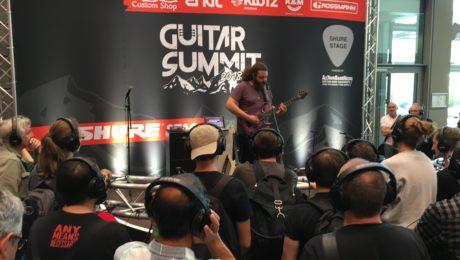 Guitar Summit 2018 - Video blogging - Jour 2