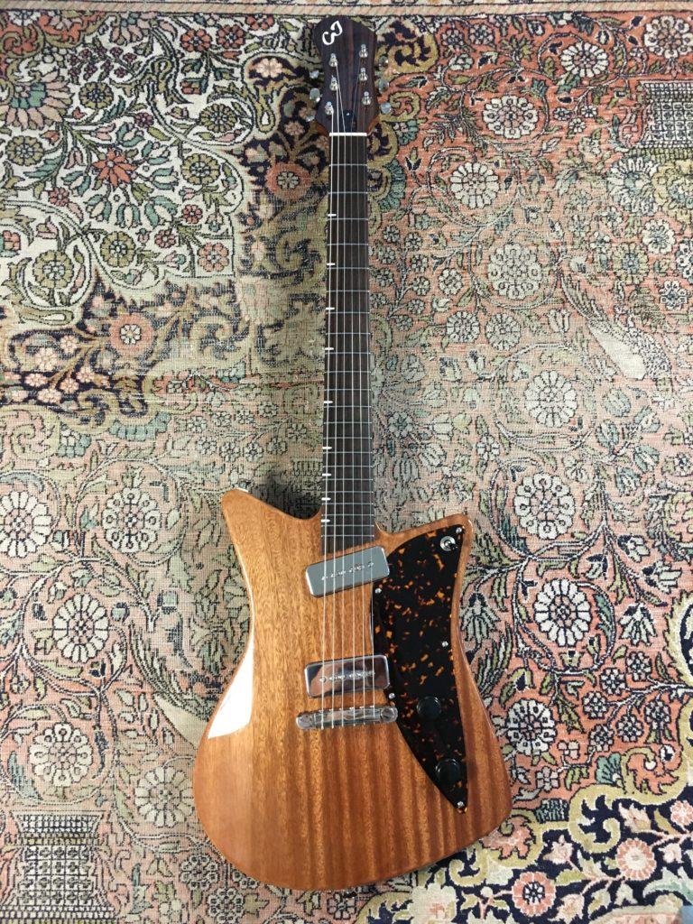 Test Guitare - Modèle Raccoon du luthier Camille Jacob - La Chaîne Guitare