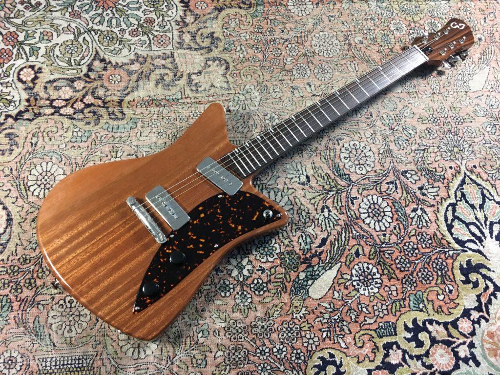 Test Guitare - Modèle Raccoon du luthier Camille Jacob