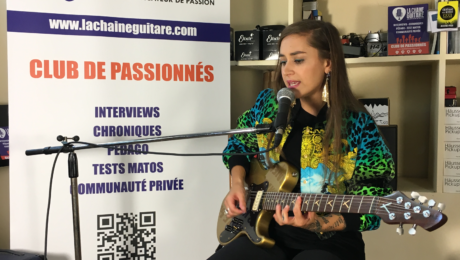 Interview Nina Attal - Guitare à la Main pour présenter JUMP