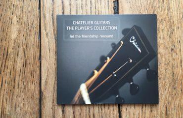 Interview luthier Chatelier - CD 18 morceaux joués sur guitare Chatelier