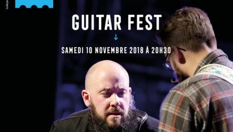 Guitar Fest 2018 - Théâtre Rutebeuf de Clichy 10/11 - Interview Julien Bitoun