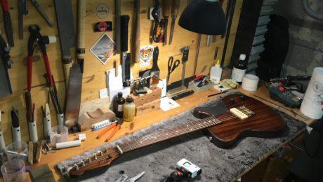 Une guitare Tony Girault à gagner pour le Festival de Guitare de Puteaux