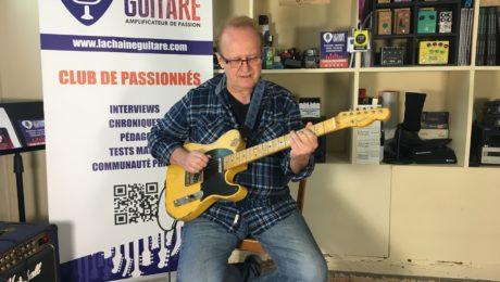 Interview Al Bonhomme - En vidéo Guitare à la Main pour parler musique Country