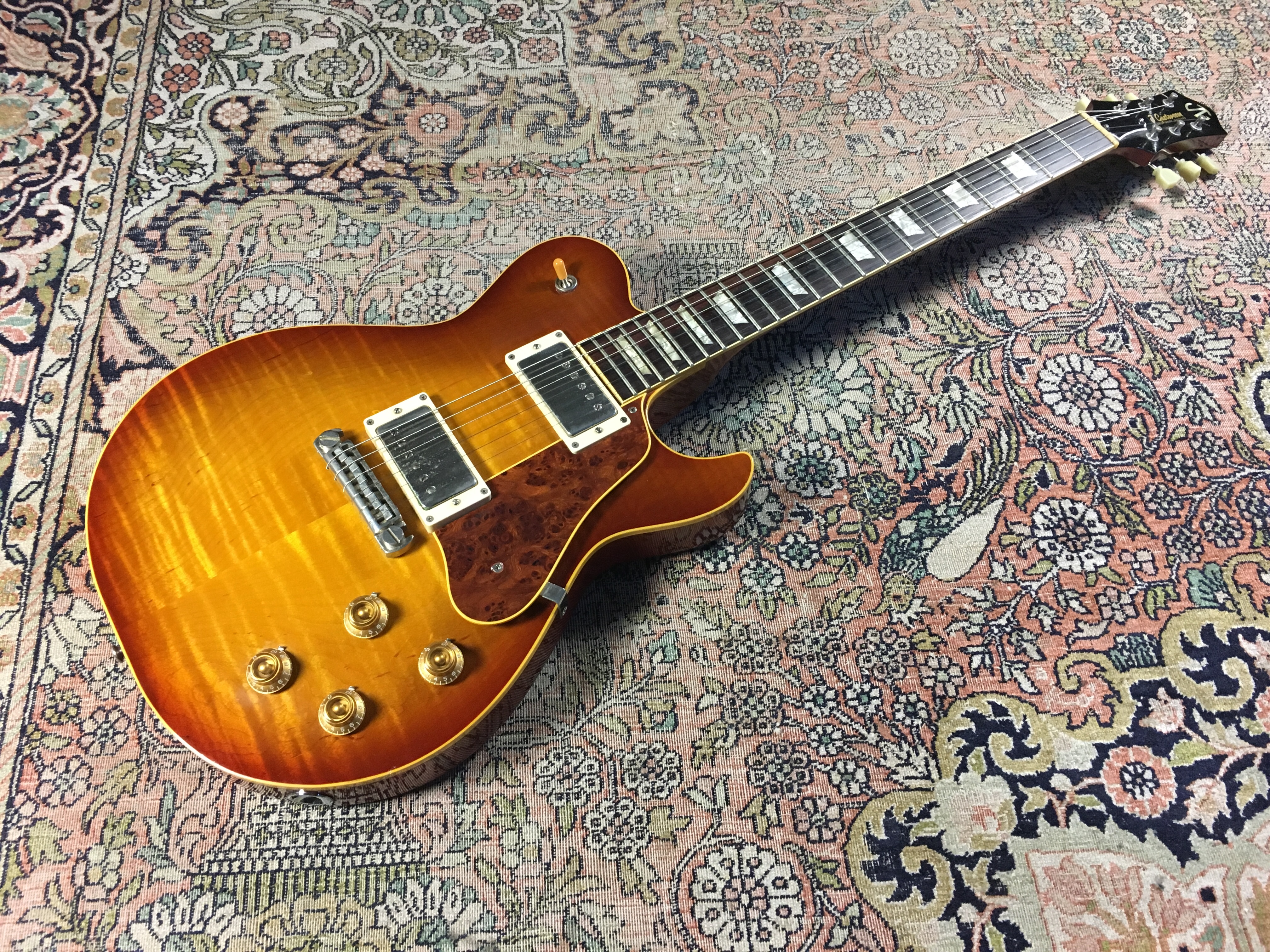 Test Guitare - Bluesmaster Custom 59 - Luthier Johan Gustavsson