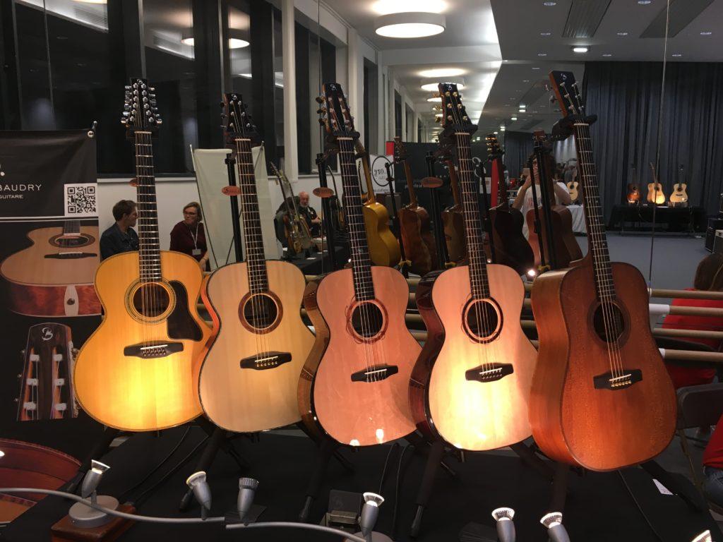 Les guitares Baudry - Puteaux 2018