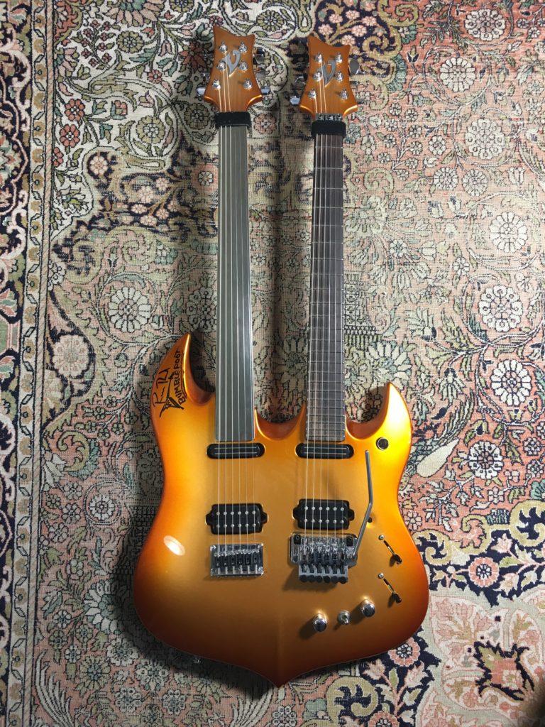 Double manche Vigier Ron Bumblefoot Thal  - Guitares d'Exception Matthieu Lucas