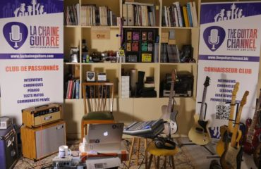 Showroom La Chaîne Guitare - Paris, France