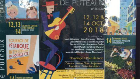 Festival de Guitare de Puteaux 2018 - Video blogging
